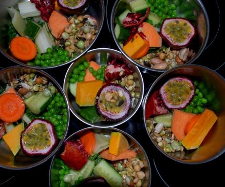 Fresh food bowl example